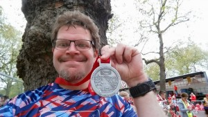London Marathon - Neill PB