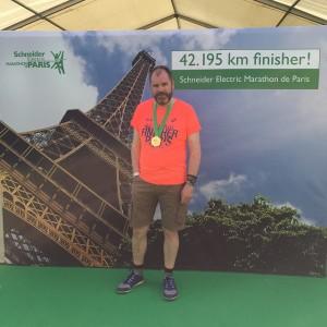 Paris Marathon Trevor