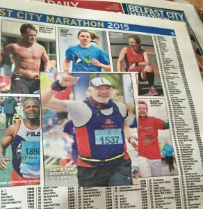 Belfast Marathon Bobbie in paper edited