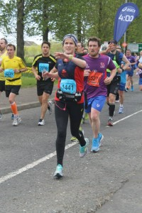 Belfast Marathon Caroline
