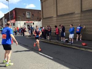 Belfast Marathon Ian