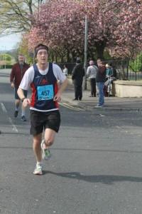 Belfast Marathon Johnathan Beattie