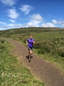 Gillian Barnhill Divis 10mile