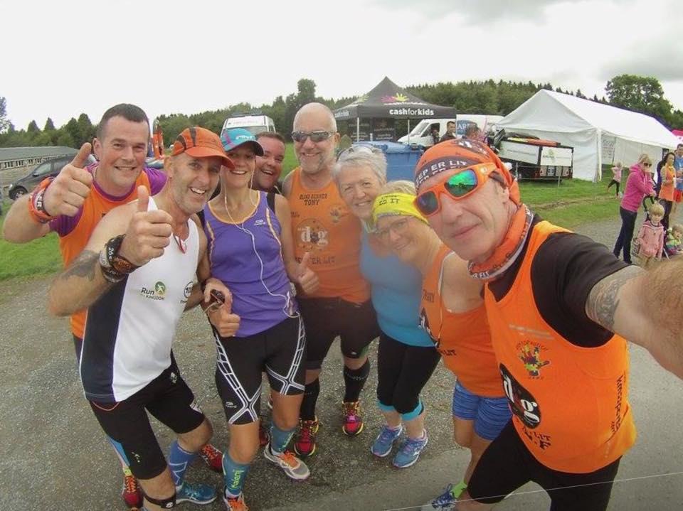 Gosford Half Marathon 100 marathons 100 days final day Gillian Gary Tony
