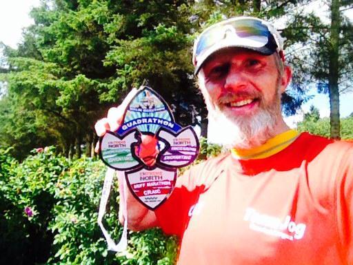 Inishowen 4 marathons Bobbie