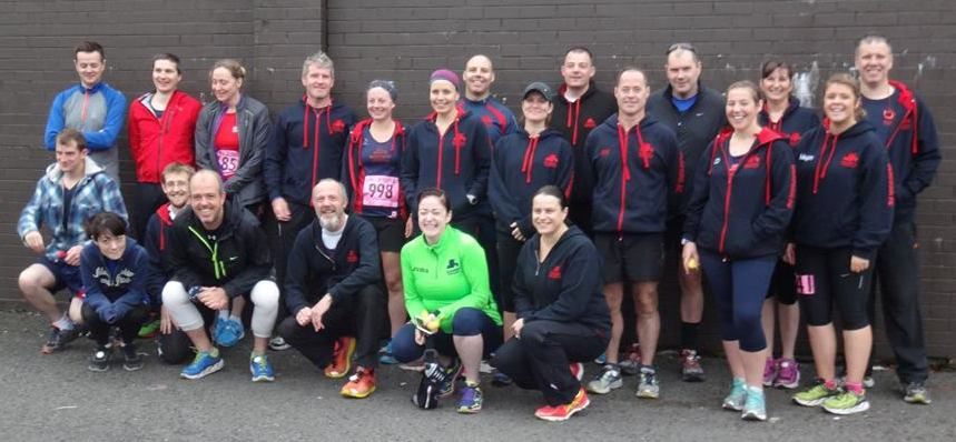 Belfast Half - group ALL