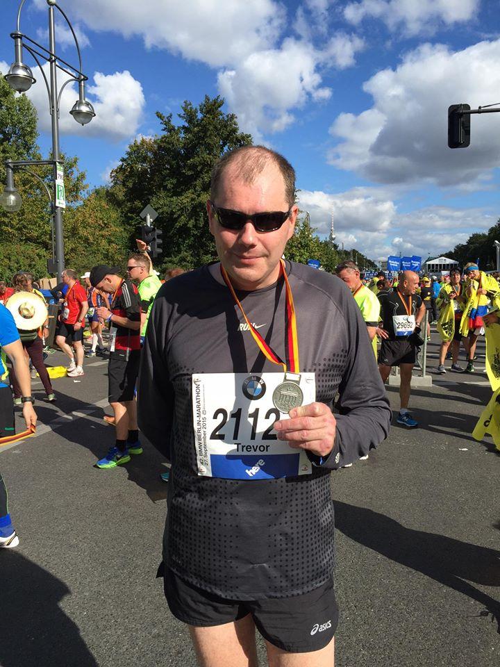 Berlin Marathon Trevor