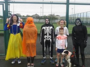 Carrickgergus Halloween parkrun